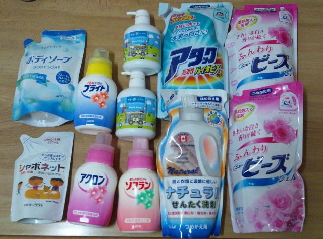 【洗濯洗剤ランキング】今売れている洗濯洗剤を紹介します。のサムネイル画像