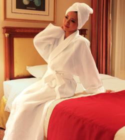 お風呂上がりに使いたい!おすすめのバスローブを紹介します☆のサムネイル画像