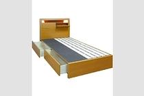 セミダブルのベッドで、毎日の睡眠をゆったりと過ごそう!!のサムネイル画像