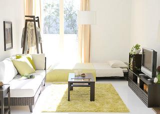 狭い部屋でもベッドを置いて更に部屋を広く快適に使うためにのサムネイル画像