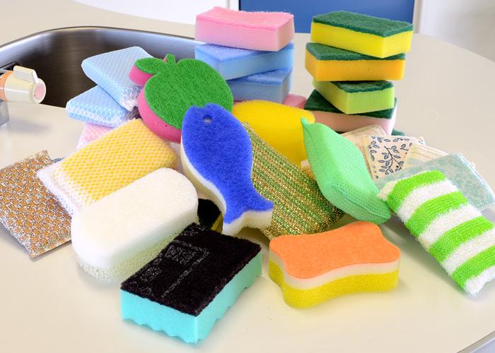 【必見】台所用スポンジの正しい使い方、除菌方法、収納方法のまとめのサムネイル画像