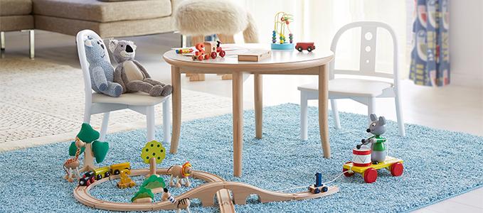 可愛いのは子供服だけじゃない!子供用家具も実は可愛いんですよ♡のサムネイル画像