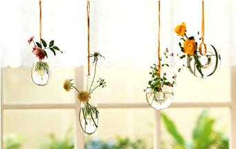 ハンギングでお花を可愛くお洒落に飾りましょう♪アイディアまとめ!のサムネイル画像
