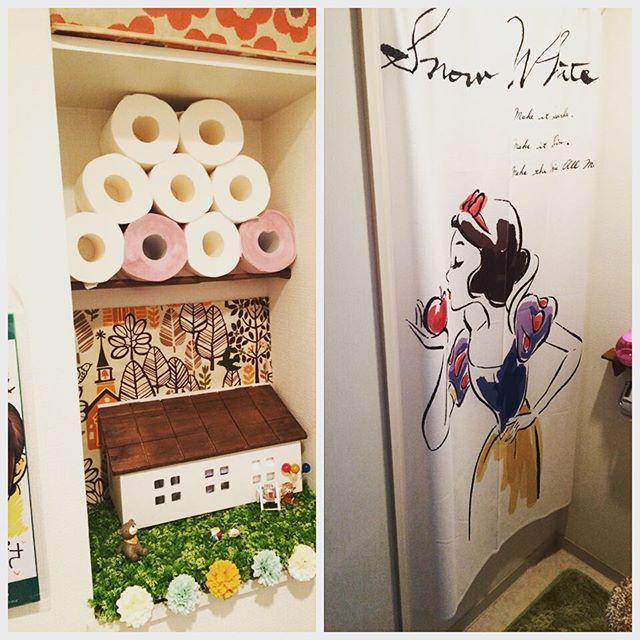 真似したい!素敵なインテリアのトイレをあつめてみました♡のサムネイル画像