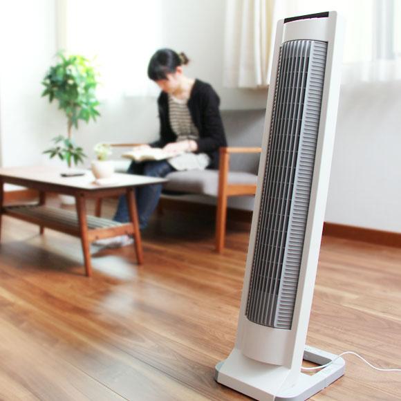 インテリアとしても使える!人気のタワー型扇風機のメリットとは?のサムネイル画像