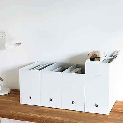 書類の収納だけじゃない。無印良品のファイルボックスは優秀すぎるのサムネイル画像