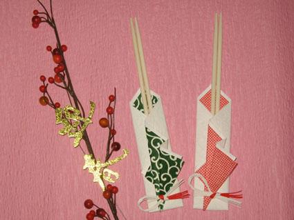 ホームパーティーのコーディネートにも役立つ箸袋の作り方!!のサムネイル画像