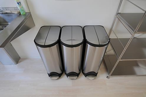 みんなはどんなの使ってる?おしゃれなキッチンのゴミ箱が欲しい!のサムネイル画像