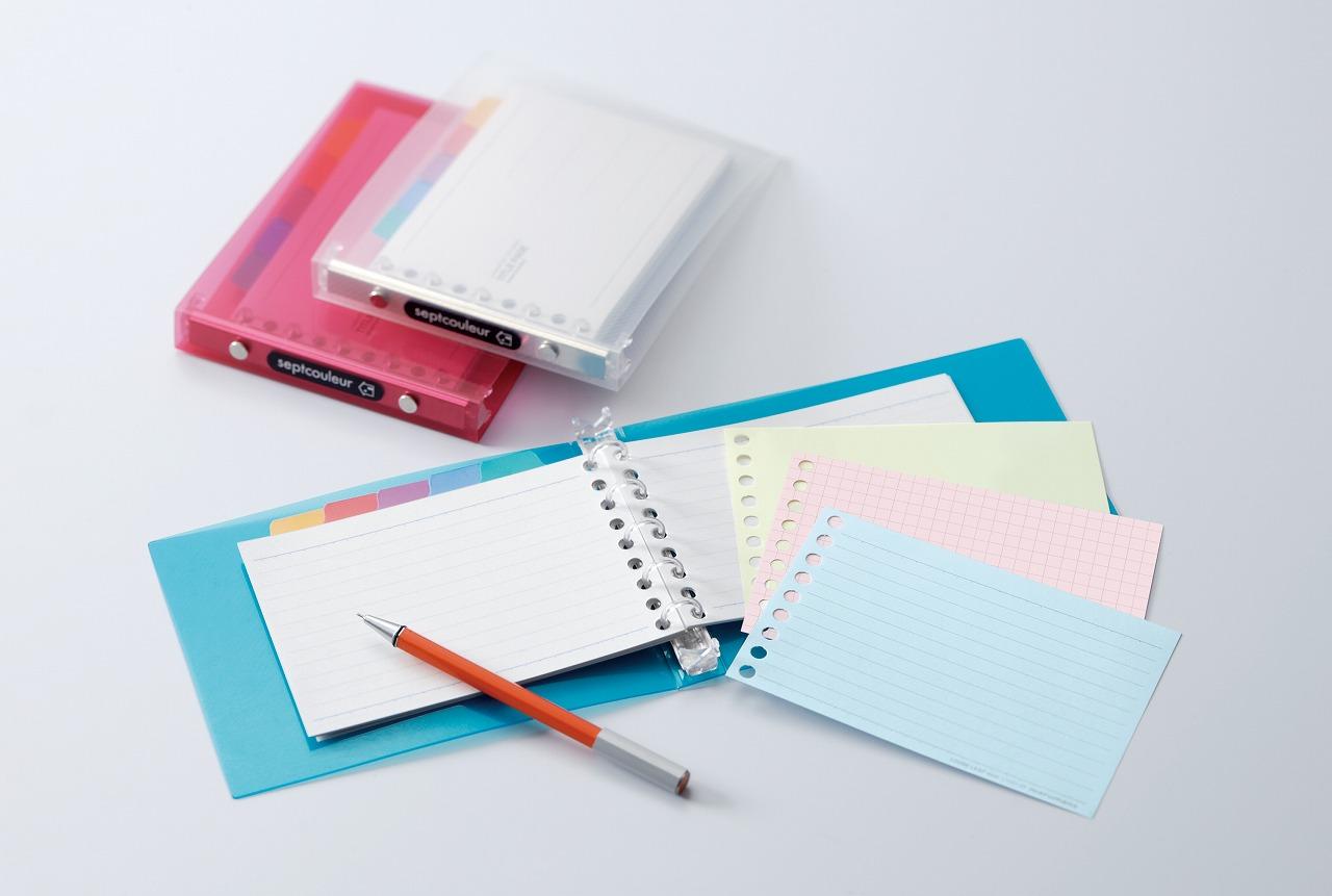 カスタムは自由自在!マルマンルーズリーフで手帳を作ろう!のサムネイル画像