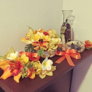 オレンジの花を飾って華やかに♡幸せを呼ぶ置き方&簡単な取り入れ方のサムネイル画像