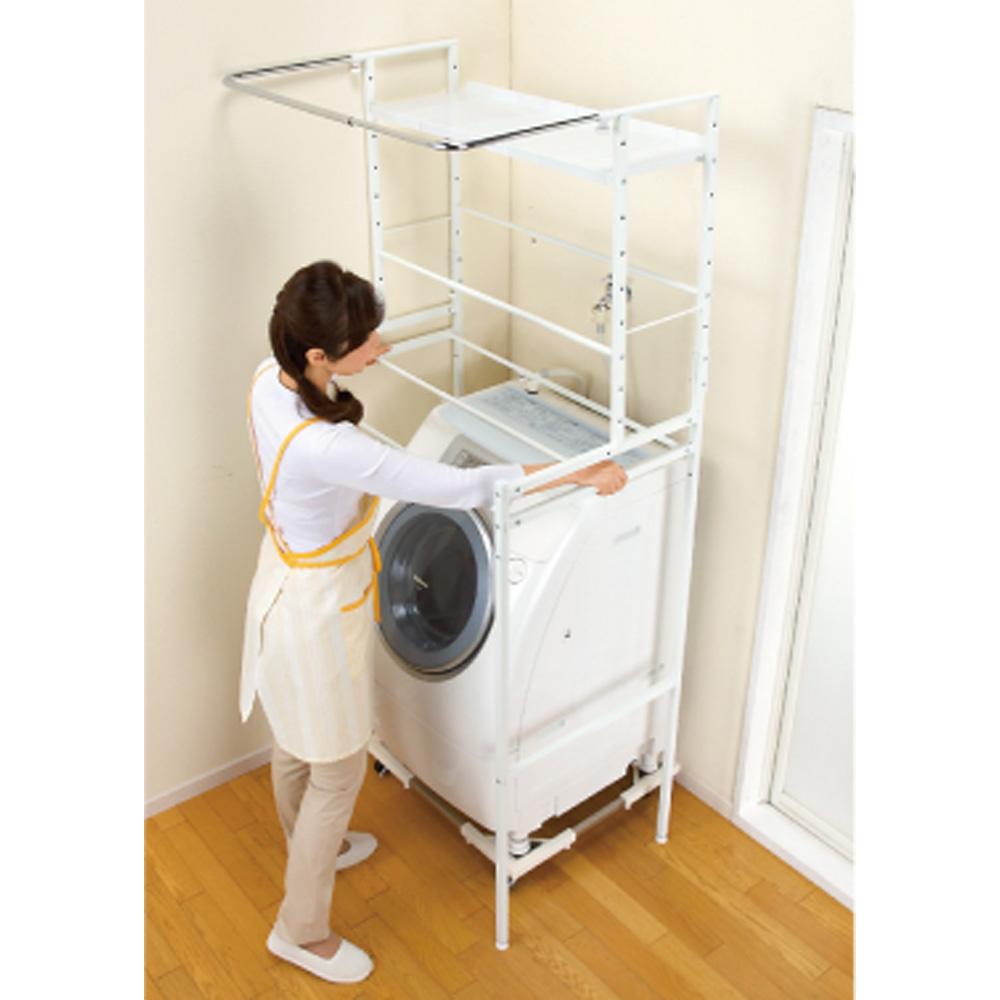 洗濯機周りの収納スペース☆おすすめのランドリーラックを紹介☆のサムネイル画像