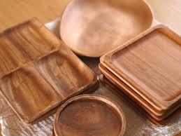 """おすすめな""""木製食器のプレート""""で美味しいご飯を楽しもう♪のサムネイル画像"""