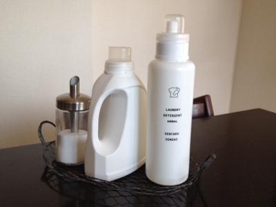 洗濯を楽しく♪♪柔軟剤の詰め替えボトルを白にしませんか?のサムネイル画像