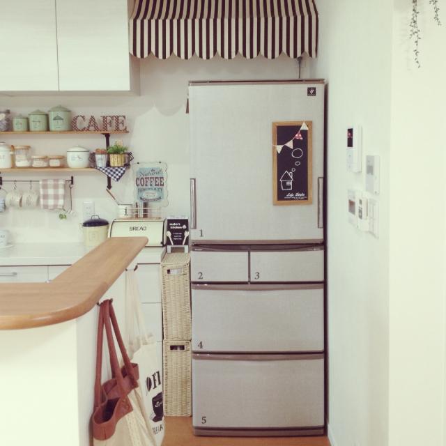 機能もだけど見た目も大事、おしゃれな冷蔵庫で毎日の家事を楽しくのサムネイル画像