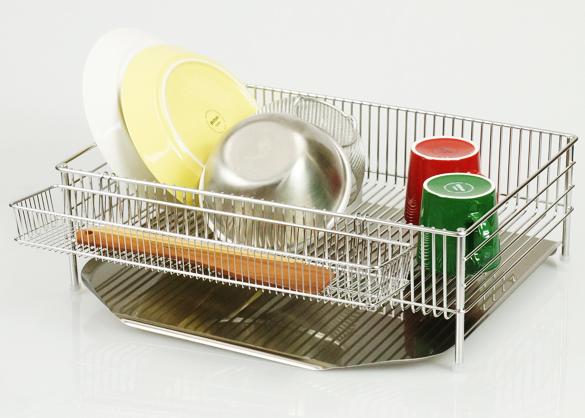 キッチンの必須アイテム!おしゃれなおすすめ水切りかごをご紹介!!のサムネイル画像