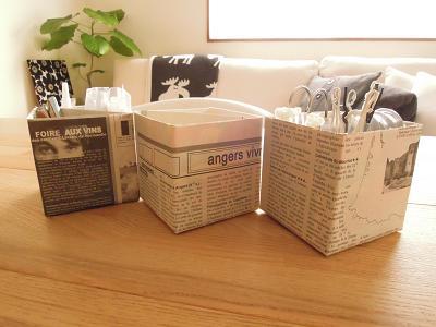 簡単なアイデアと工夫で牛乳パックを使ったエコな収納を身につけようのサムネイル画像