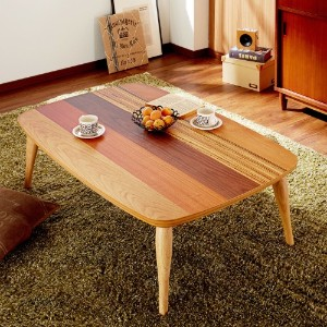 おしゃれなこたつテーブルで、お部屋にぬくもりを与えよう♪のサムネイル画像