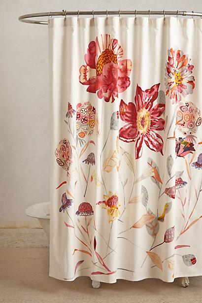 おすすめ☆おしゃれなユニットバスカーテンで素敵なバスタイムに♪のサムネイル画像