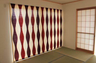 純和風にもモダン和風にも、和室にオシャレなカーテンを装ってみて!のサムネイル画像