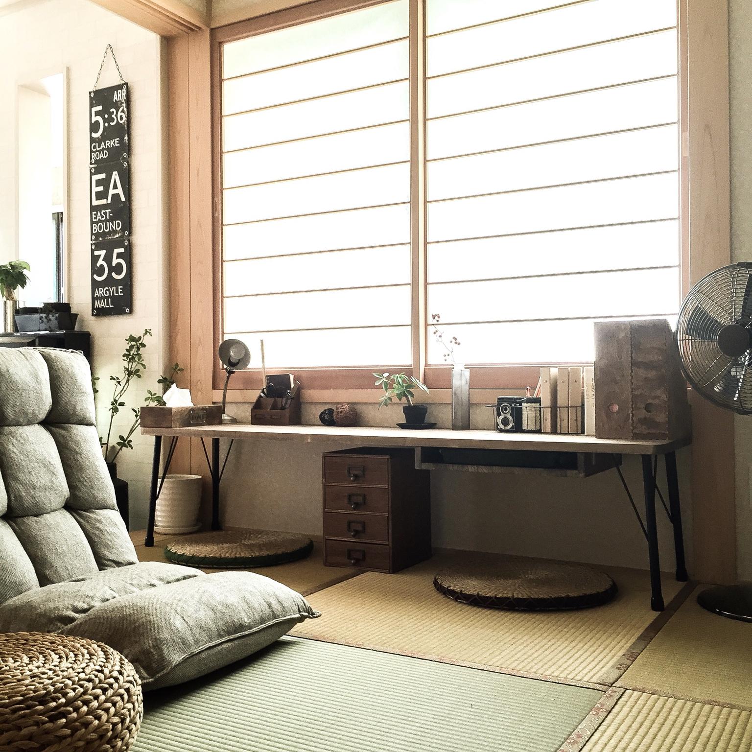 無印良品の座椅子はシックなお部屋にもナチュラルなお部屋にも♪のサムネイル画像
