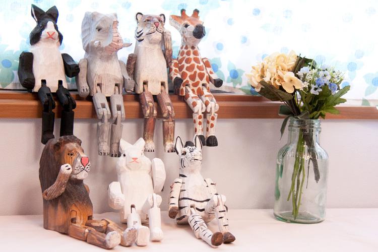 お部屋に癒しをくれるインテリア小物♡かわいい動物たちの置物のサムネイル画像