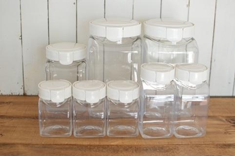 今回は様々なデザインのプラスチック保存容器をご紹介して行きます。のサムネイル画像