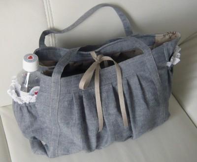 たくさん入れてお出かけできるステキなマザーズバッグの作り方のサムネイル画像
