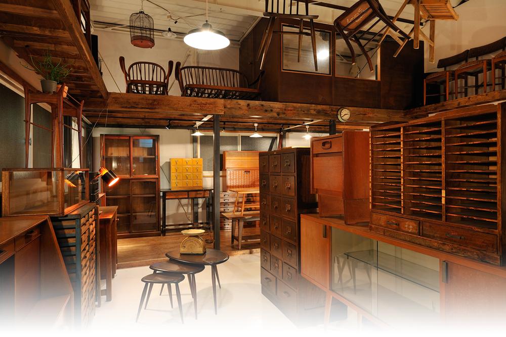 いつか狙ってみたい!憧れのヴィンテージ家具でおしゃれインテリア!のサムネイル画像