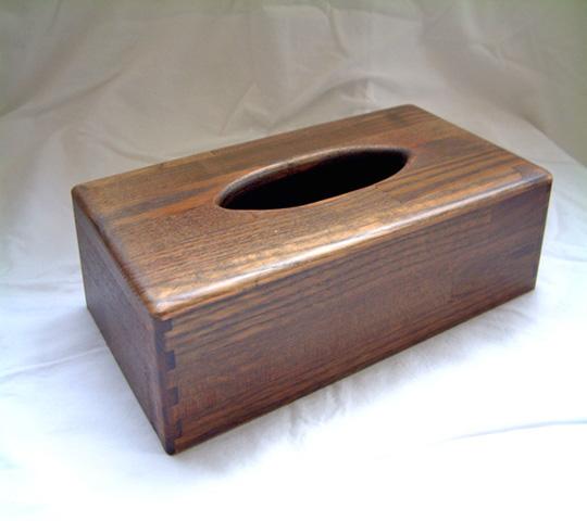 木の温もりが暖かい☆木製のティッシュケースを紹介します☆のサムネイル画像