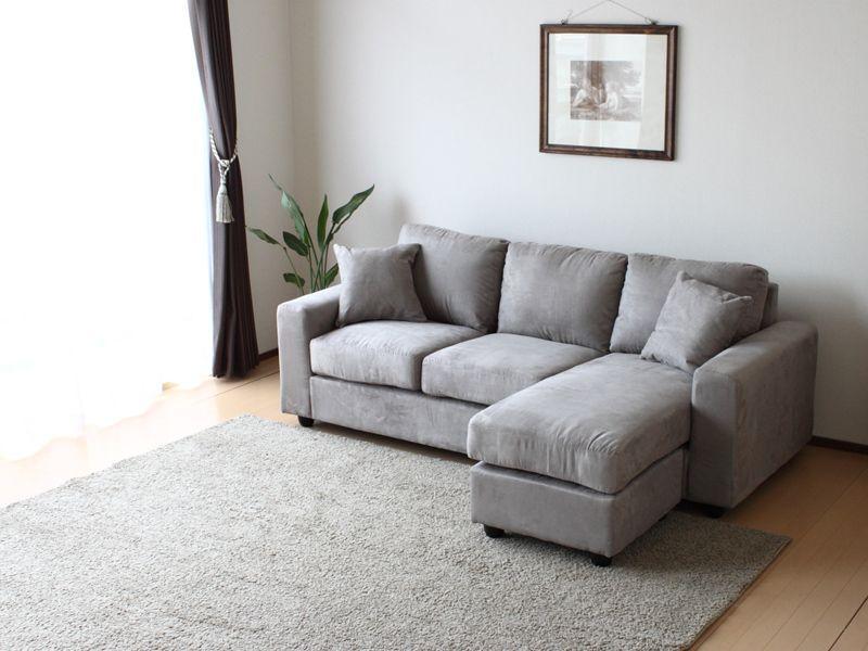 今回はクールなグレー色のソファをご紹介していこうと思っておりますのサムネイル画像