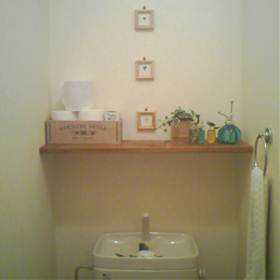 狭いトイレも快適に!オシャレでセンス抜群 トイレの棚特集!のサムネイル画像