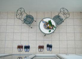 自宅テラスでカフェ気分♡カフェ風テラスでおうちカフェを楽しもう♡のサムネイル画像