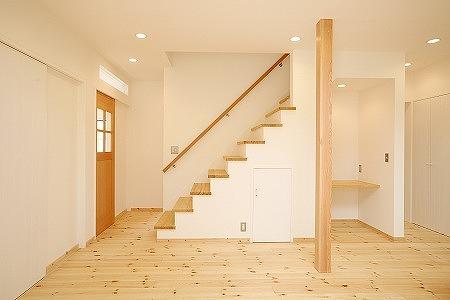 普段何気なく使っている階段!収納機能を付けて、便利に使いましょうのサムネイル画像