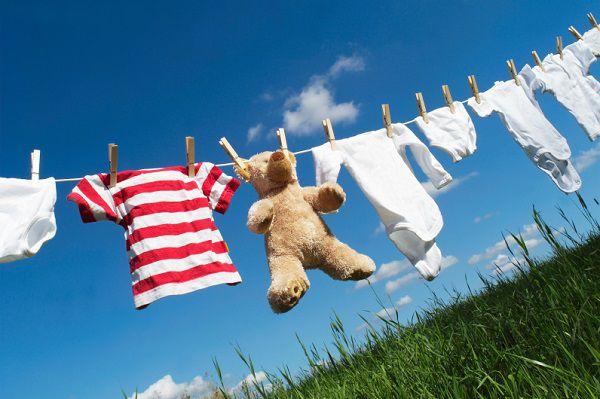 気になる視線をシャットアウト!洗濯物の目隠しで家事を気持ち良く♪のサムネイル画像