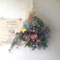 ずっと素敵!お花を長く楽しめる魅力的なドライフラワーの花束のサムネイル画像