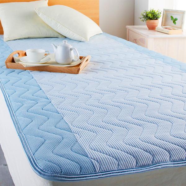 冷感タイプ敷きパッドがあれば寝苦しい季節でも快適に眠れますのサムネイル画像