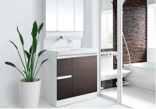 洗面台をリフォームして家族みんなで使い勝手の良い洗面所にしよう♪のサムネイル画像