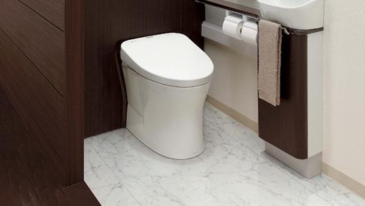毎日使うトイレだから、床材の種類にだってこだわりたいよね!のサムネイル画像