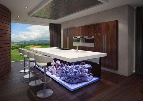 憧れのアイランドキッチン♡こんなキッチンでお料理してみたい♡のサムネイル画像