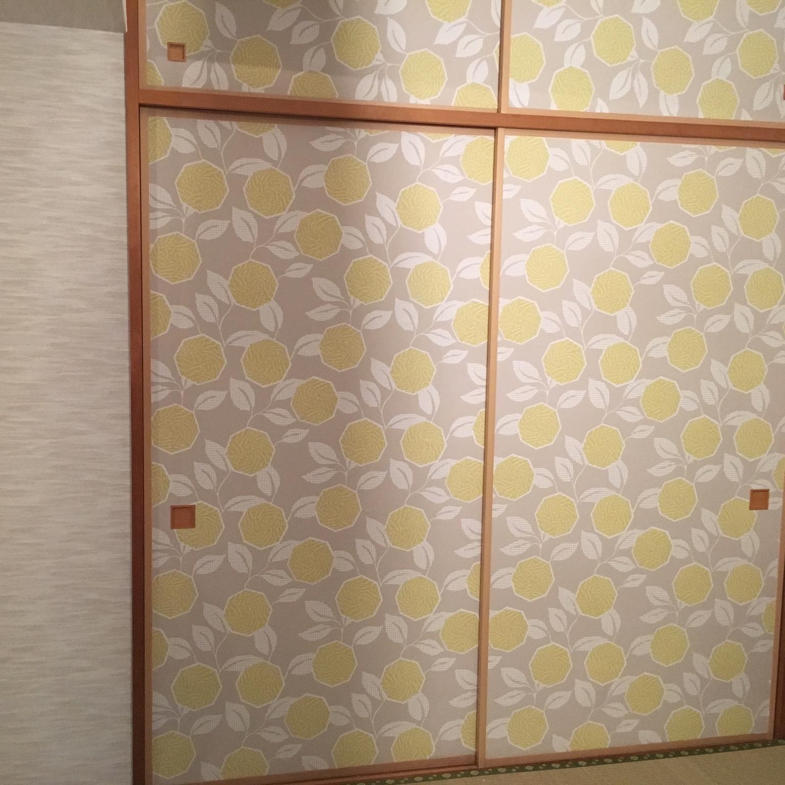 自分で張替え自由自在 モダンでお洒落な襖 簡単 襖の張替え術