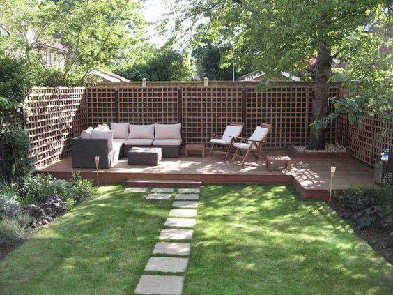 ラティスを使って庭をおしゃれにリフォームしちゃいましょう!のサムネイル画像