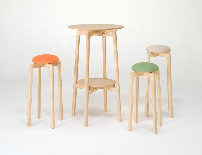 使い方いろいろ☆とにかく使える椅子=スツールが大活躍!!のサムネイル画像