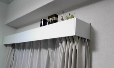 壁に穴をあけなくても作れる!カーテンボックスを付けちゃおう!のサムネイル画像