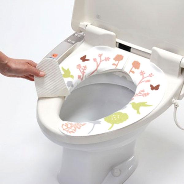 おしゃれでCUTEなトイレの便座カバーをたくさん集めました☆のサムネイル画像