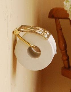 トイレのペーパーホルダーをもっとおしゃれにかわいくしよう♡のサムネイル画像
