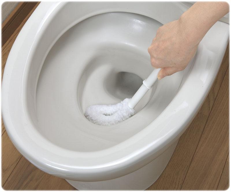 見えない部分の汚れを落とす!トイレ&ウォシュレットのお掃除方法のサムネイル画像