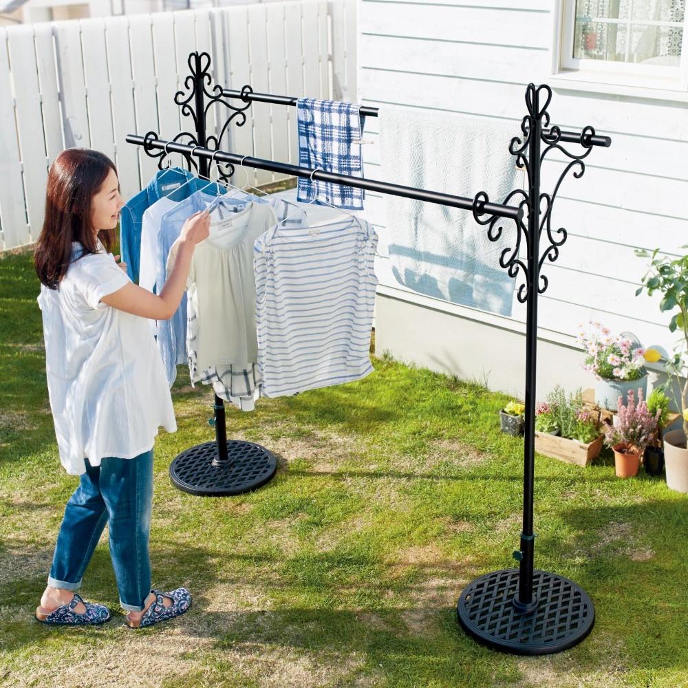 洗濯物干しが楽しくラクになる?!おすすめの屋外物干しを紹介♡のサムネイル画像