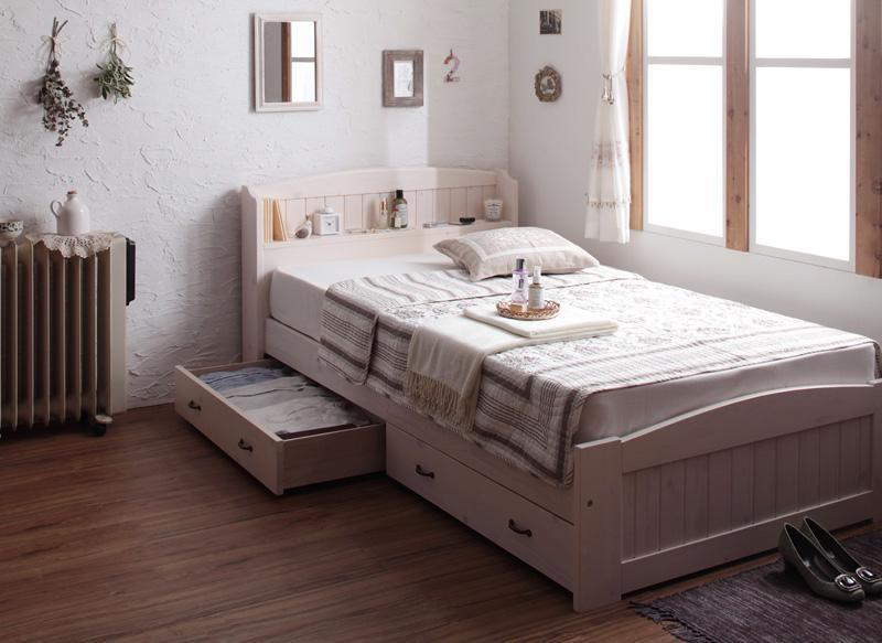 【お部屋をスッキリしたい方へ】おすすめ収納付きシングルベッドを紹介♡のサムネイル画像