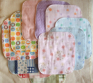 最近話題の布ナプキン!お気に入りの布で手作りしてみませんか?のサムネイル画像