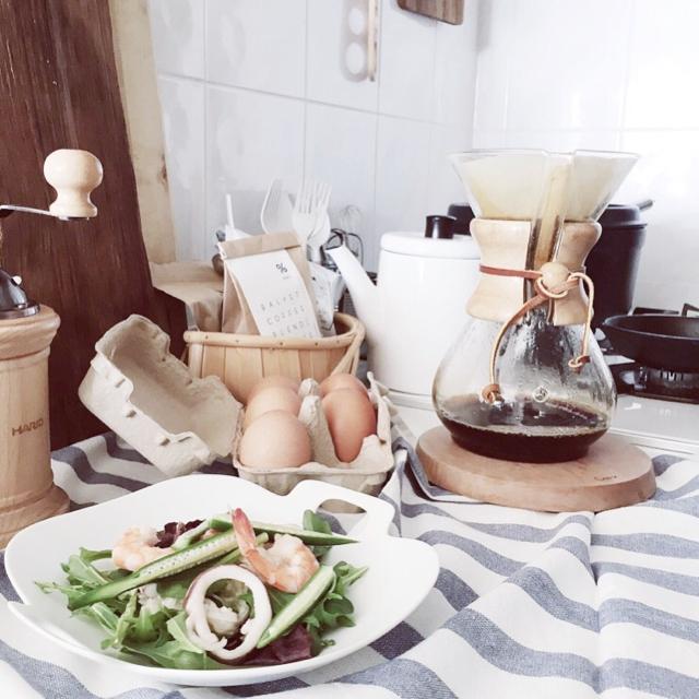 コーヒー好きの憧れ!ケメックスのコーヒーメーカーでほっと一息♡のサムネイル画像